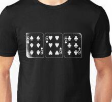 666 Cards - White Unisex T-Shirt