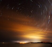 Stars over Woolgoolga  by Michael Howard