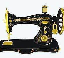 Old sewing machine  by torishaa