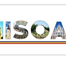 timisoara text Sticker