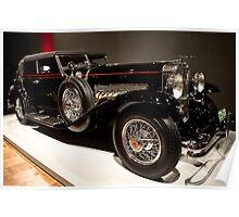 1931 Duesenberg SJ Convertable Sedan Poster