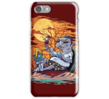 Vampire At The Beach  iPhone Case/Skin