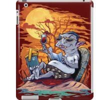 Vampire At The Beach  iPad Case/Skin