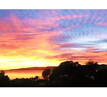 Hawley Sunrise, Canon IXUS 50 Photographic Print