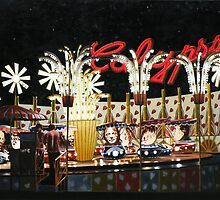 "Surrealism at the Carnival - oil on canvas - 50"" x 34"" by Dave Martsolf"