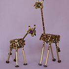 Boxy Giraffe and Baby by SRolfe
