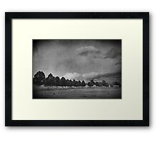 You'll Come Apart And You'll Go Black Framed Print