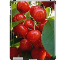 Sweet cherries iPad Case/Skin