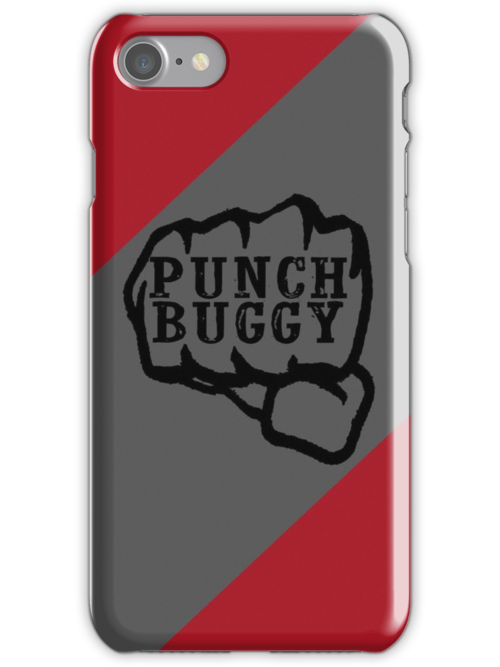 Punch Buggy Iphone Case by grant5252