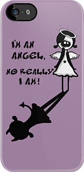 I'm an angel, No really I am! by Amanda  Cass