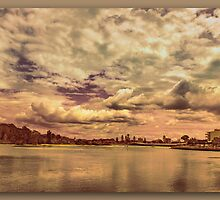Low Flying Clouds by john NORRIS