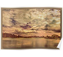 Low Flying Clouds Poster