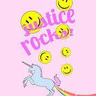 Justice Rocks iPhone Case by Josh Marten