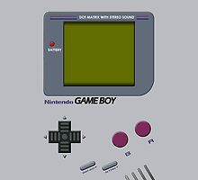 Retro Gameboy Original - (iPhone) by Adam Angold