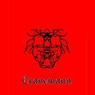 Bull Demon iphone Case by Cranemann