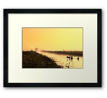 Share the nature Framed Print
