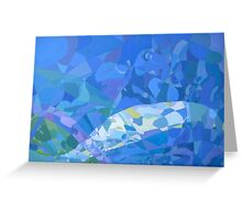 Aspects of Blue Greeting Card