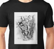 ANZAC Aussie Diggers WW2 drawing Unisex T-Shirt