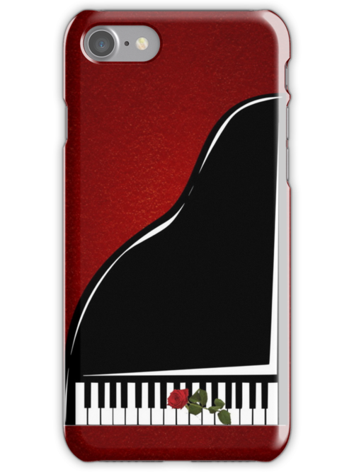 Piano iPhone Case by judygal