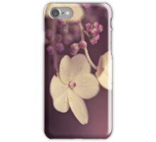 prune floral - iPhone case iPhone Case/Skin