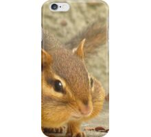 Chubby Cheeked Chipper iPhone Case/Skin