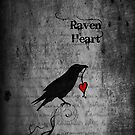Raven Heart - IPhone Case by Rookwood Studio ©