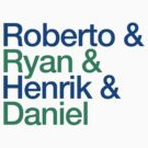 Roberto & Ryan & Henrik & Daniel by pootpoot