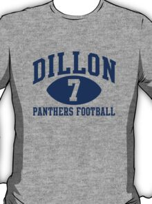 Dillon Panthers Football #7 T-Shirt
