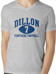 Dillon Panthers Football #7 Mens V-Neck T-Shirt