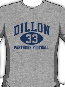 Dillon Panthers Football #33 T-Shirt