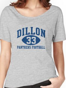 Dillon Panthers Football #33 Women's Relaxed Fit T-Shirt