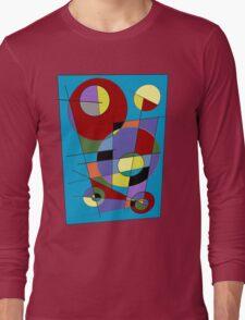 Abstract #40 Long Sleeve T-Shirt