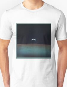 View of planet earth from the moon T-Shirt