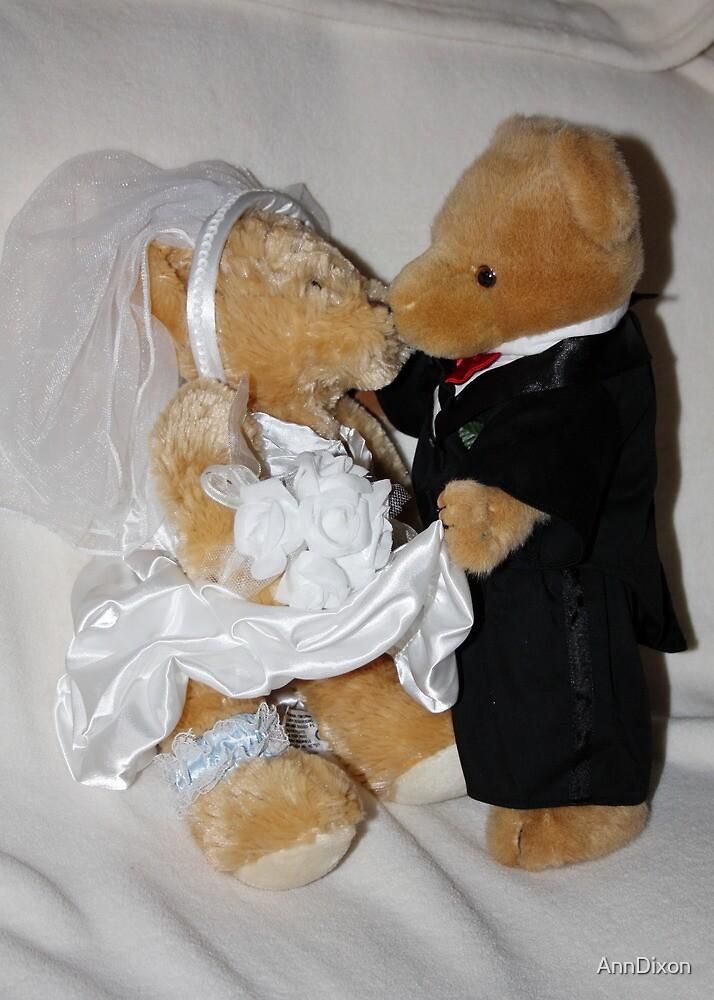 Mr & Mrs Teddy by AnnDixon