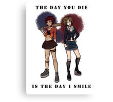 Murder sisters Canvas Print