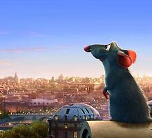 Remi in Paris - Ratatouille  by SBRGdesign