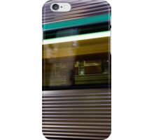 Trains Go By iPhone Case/Skin