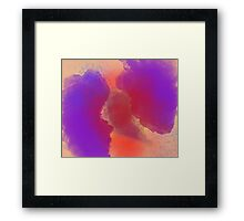 Sea of Rainbow Clouds Framed Print