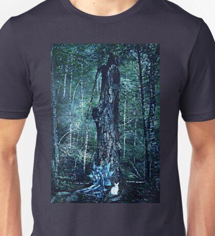 To follow the white rabbit Unisex T-Shirt
