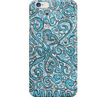 blue lace iPhone Case/Skin