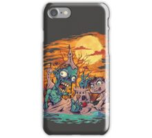 Zombie At The Beach  iPhone Case/Skin