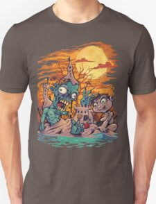 Zombie At The Beach  T-Shirt
