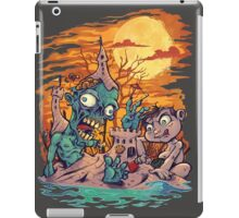 Zombie At The Beach  iPad Case/Skin