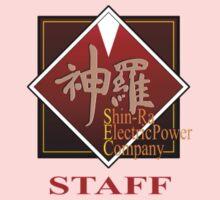 ShinRa Electric Power Company - Staff - Final Fantasy 7 Kids Tee