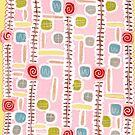 pink bathmat by Soxy Fleming