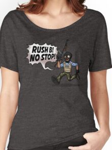 Rush B! No Stop! Women's Relaxed Fit T-Shirt