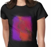 Sea of Rainbow Clouds Womens Fitted T-Shirt