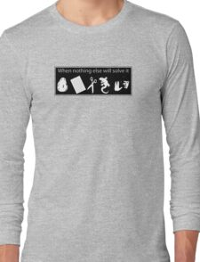 Rock. Paper. Scissors. Lizard. Spock! Long Sleeve T-Shirt