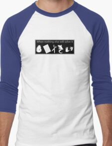 Rock. Paper. Scissors. Lizard. Spock! Men's Baseball ¾ T-Shirt
