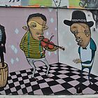 Melbourne Street Art by Artist Ears by sarbi